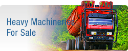 Heavy Machineries For Sale